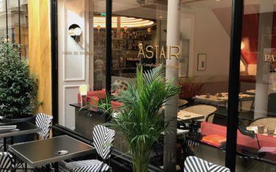 Livraison de projet : Restaurant Astair, Paris